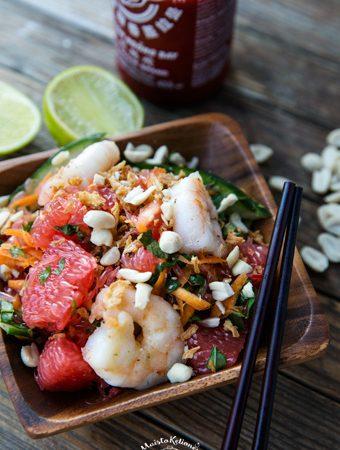 vietnamietiskos salotos su greipfrutais