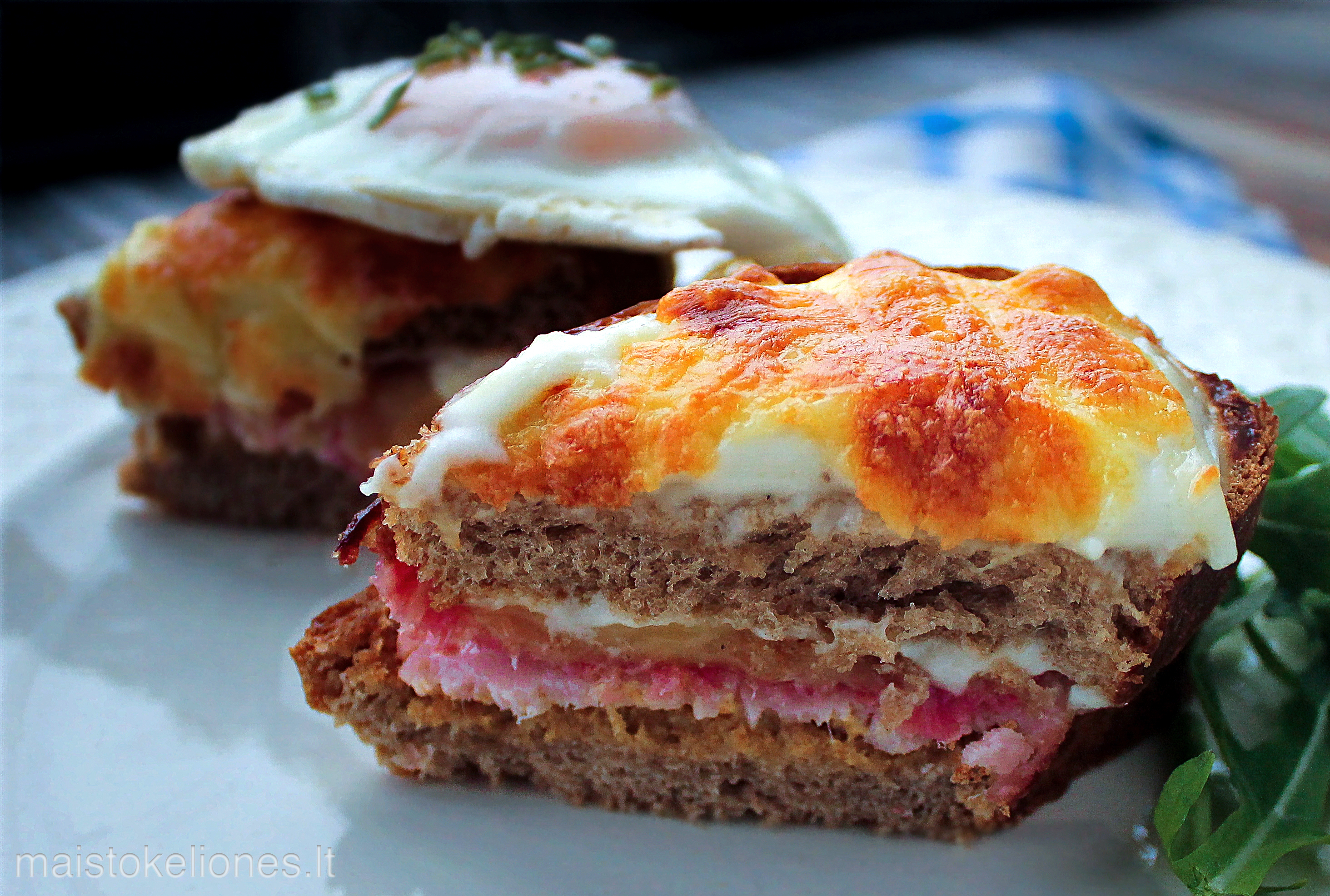 Croque monsieur sumuštinis
