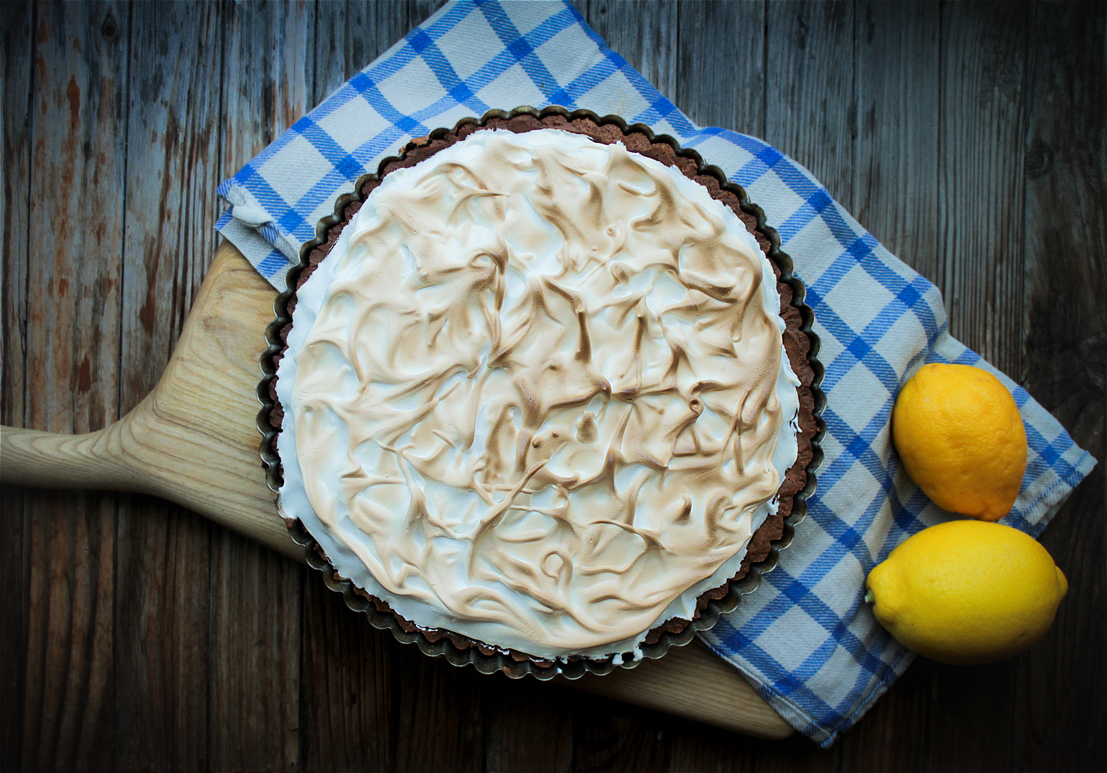 citrinų pyragas su morengu. Labai skanus pyragas