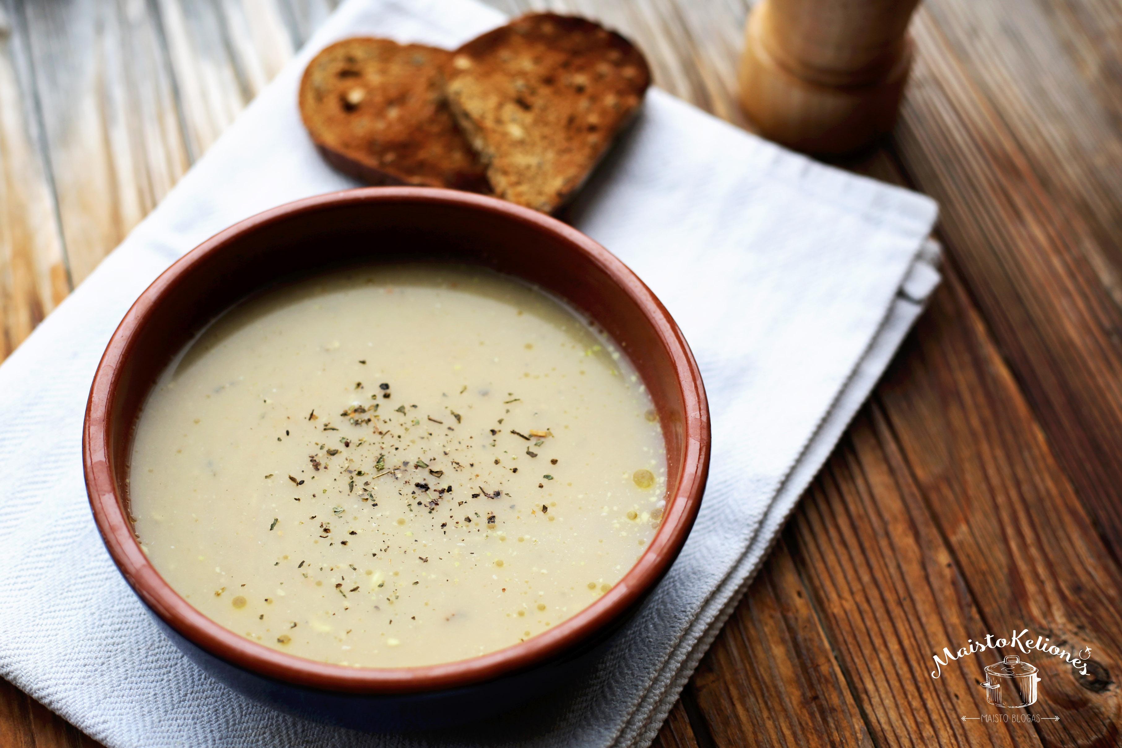 Pupelių sriuba toskaniškai