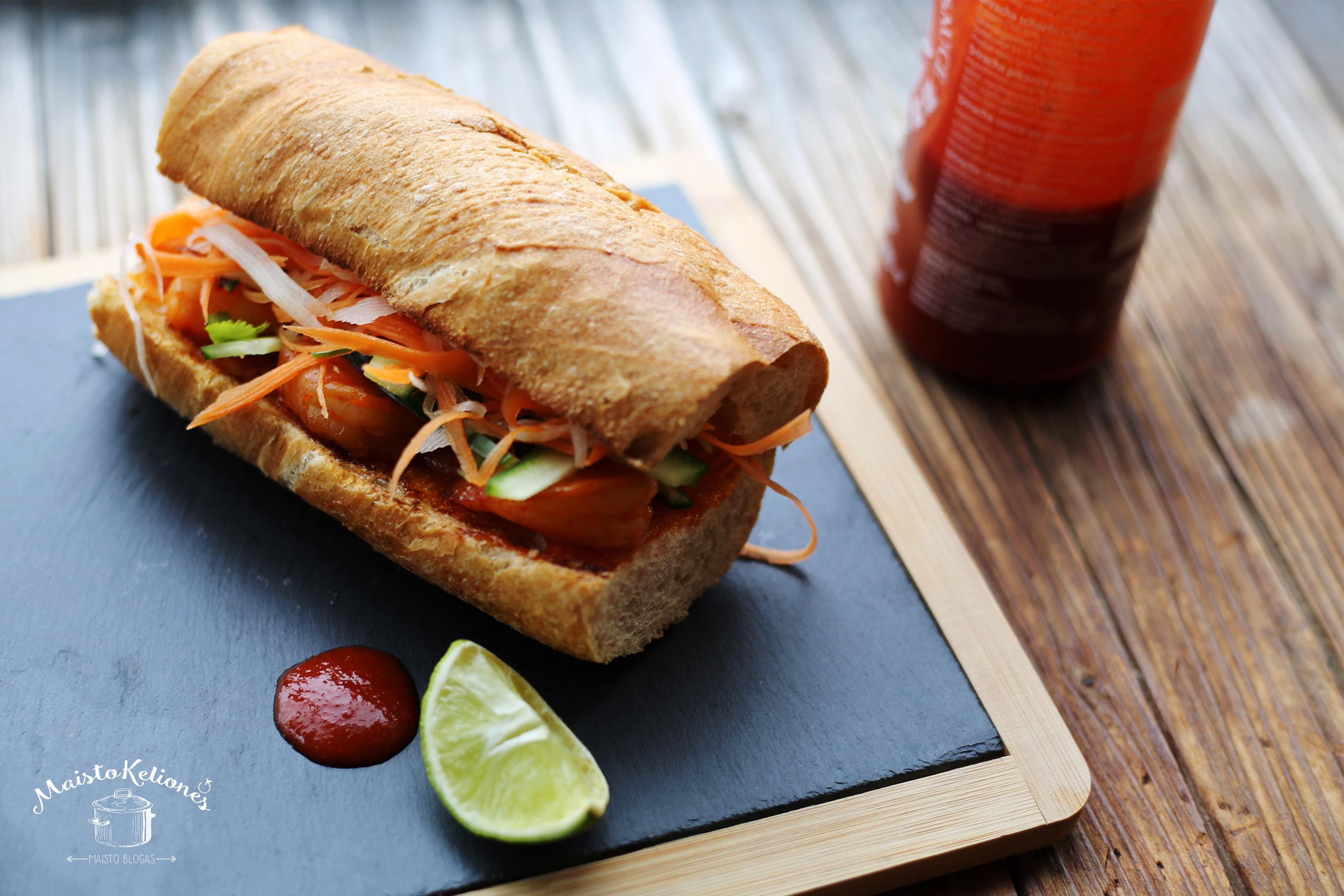 Sumuštinis su krevetėmis (Bánh mì)