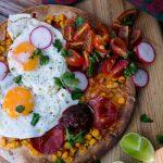 meksikietiški pusryčiai - huevos rancheros