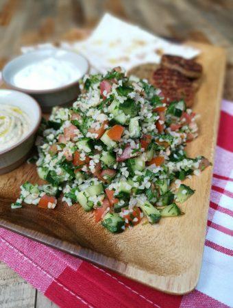 Libanietiškos tabule salotos