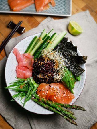 sushi dubenėlis - sushi bowl