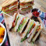 club sandwich sumuštinis su vištiena