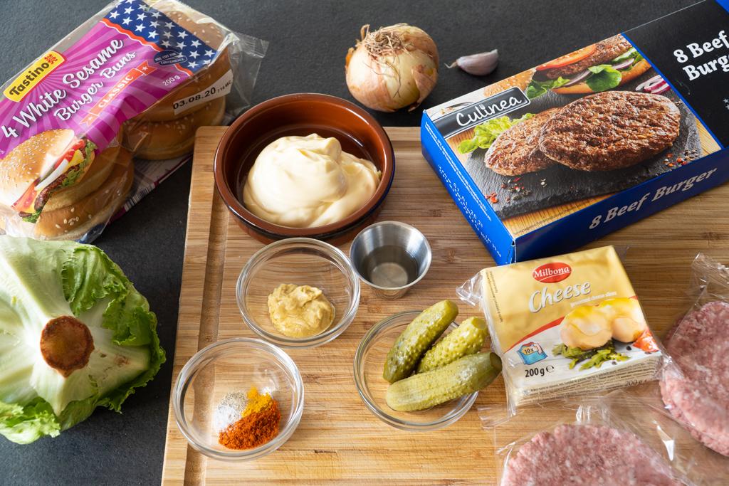 naminis big mac mėsainis ingredientai