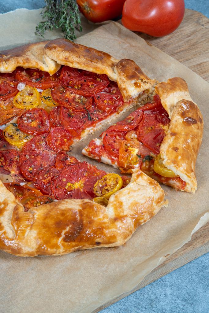 pomidorų galetė su sūriu